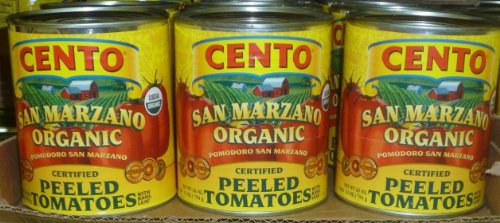 Cento Certified ORGANIC SAN MARZANO Tomatoes From Italy, (3 Pack)
