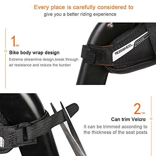 Roswheel Professional Road Bike Bag Bike Saddle Bag Bicycle Seat Storage Bags by Roswheel (Image #5)