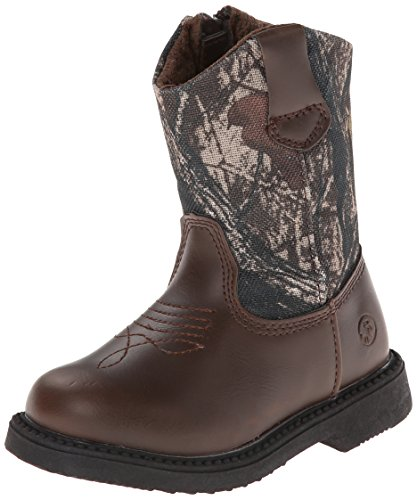 Northside Partner Cowboy Boot (Infant/Toddler/Little Kid), Brown Camo, 10 M US Toddler (Kids Boots Camo)