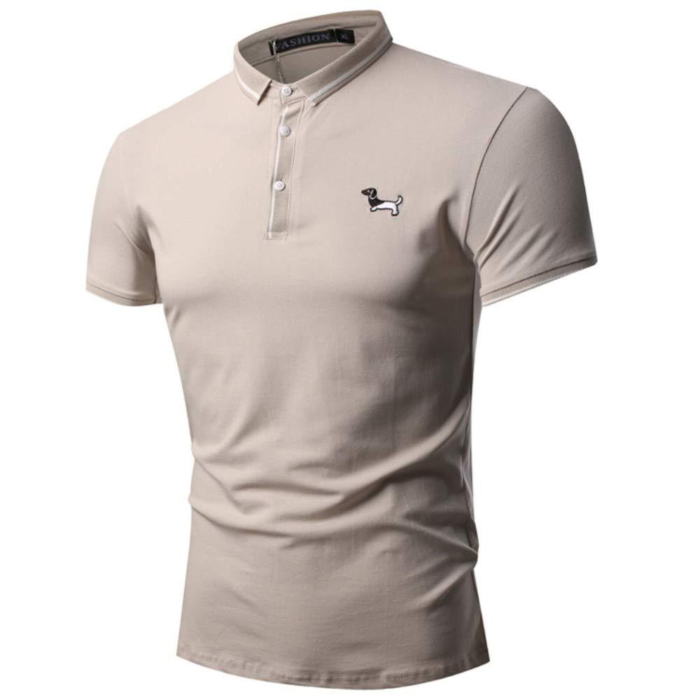 NISHISHOUZI Polo Shirt Mens Polo Inglaterra Macho Perro Color ...