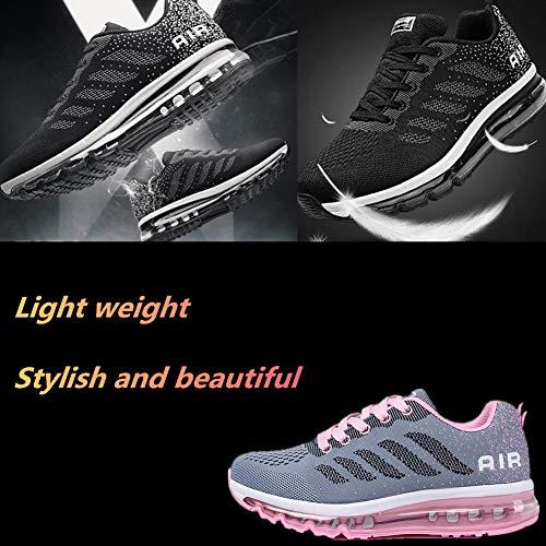 Basse Scarpe Running All'aperto 34 Casual Sneakers Eu Da Uomo Air Grigio 46 Corsa Donna Interior Ginnastica Rosa Sportive Fitness 8EnHwvqnO