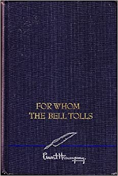 book review for whom the bell (for my book review of for whom the bell tolls see here) posted by joel swagman at 3:38 am email this blogthis.