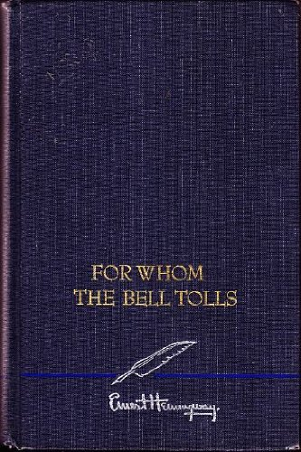 book review for whom the bell For whom the bell tolls by ernest hemingway my rating: 4 of 5 stars farewell to arms is said to be hemingway's best book set in the spanish civil war, robert jordan is an american fighting in the international brigades for the republicans he is tasked with blowing a bridge behind.