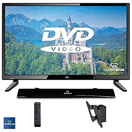 "Amazon.com: 32"" LED HDTV 720p w/ Built-in DVD Player Bundled with ..."