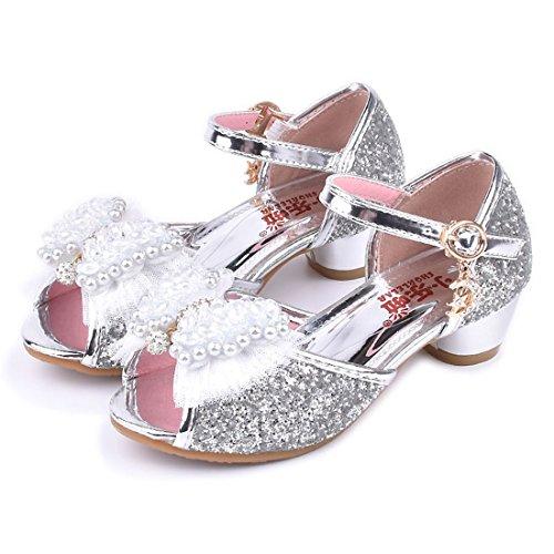 360274272cc79 vente chaude 2018 Yy.f YYF Petite Fille Belle Sandale Chaussure de Princesse  A Talon