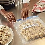 Hefty Slider Freezer Bags, Quart, 35 Count