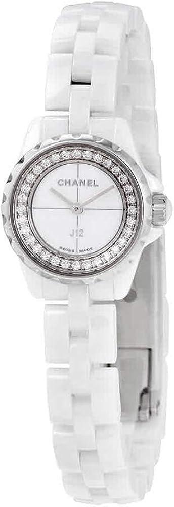 Chanel J12-XS H5237 - Reloj de Pulsera para Mujer (Esfera Blanca, cerámica)