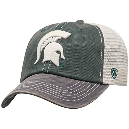 - Top of the World Michigan State Spartans Men's Mesh-Back Hat Icon, Green, Adjustable
