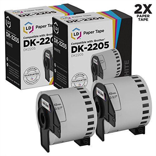 LD Compatible Brother DK 2205 Rolls