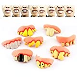 A Little Lemon 10 pcs Ugly Fake Teeth Costume Party Funny Gag Gift