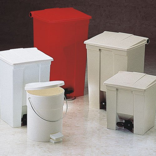 Rubbermaid Commercial製品RCP 6144レッドMedcl Waste step-onコンテナ16.25 X 15.75 X 60.02レッド B0062451XO