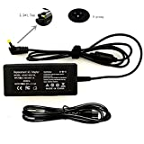 TSKYBEAR New 40W Laptop Ac Adapter Charger for Acer-Aspire V3 V5 V7 R7 R3 S3 M3 M5 E5 E15 F5 F15 V3-551 V5-121 S3-391 M3-581T M5-481PT M5-481T R3-131T 471T R7-572 E5-522 E5-574G E5-575 F5-571T