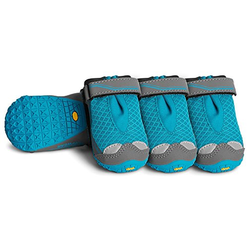 Ruffwear - Grip Trex (All-Terrain Paw Wear), Blue Spring, 2.25 in (57 mm)