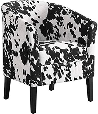 Amazon Com Linon Simon Chair Udder Madness Kitchen Amp Dining