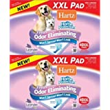Hartz Home Protection Lavender Odor Eliminating Dog Pads, XXL 80ct (2 x 40ct)