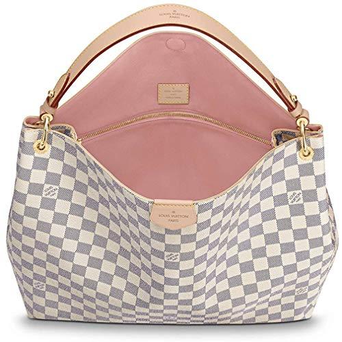 ff5ff3489e3e1 Amazon.com: Louis Vuitton Damier Azur Canvas Graceful MM Shoulder Handle Handbag  Bag Article: N42233: Shoes