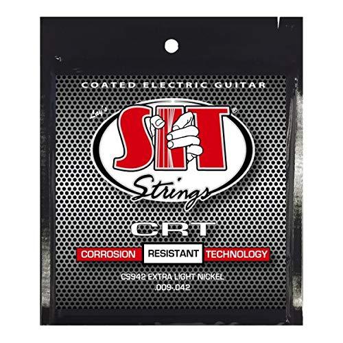 人気大割引 【6セット】SIT [09-42] CS942 [09-42] CRT コーティング コーティング エレキギター弦 CRT B07Q5FBMP9, 東京レッドチェリー:e65aa6e6 --- martinemoeykens-com.access.secure-ssl-servers.info