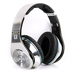 Bluedio R+ Legend Deep Bass Bluetooth Wireless Headphones with Mic & Micro SD Card Slot (Silver)