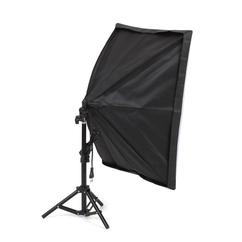 2 x Tr/épied Mvpower Kit de Mini Studio Photo Tente Cubique Pliable 80cm*80cm*80cm avec 3 x 135W Lampe Ampoule 4 4 Fonds Rouge, Blanc, Bleu Noir 3 x Bo/îte /à Lumi/ère 50x70 cm