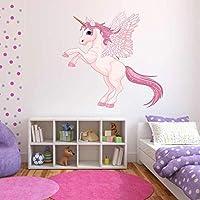 A Todo Color Unicornio Alas Pegasus Adhesivo Pegatina