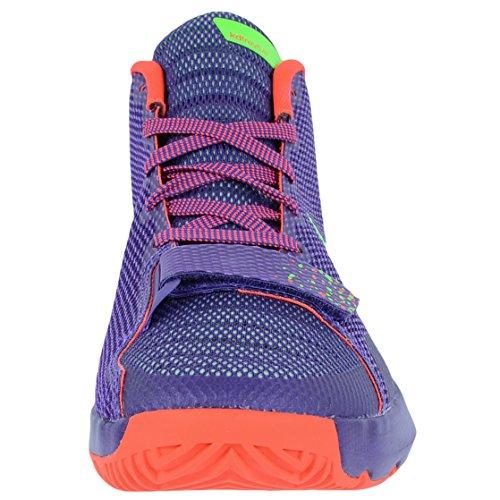 Scarpe Da Ginnastica Nike Kd Trey Iii Mens Hi Top 749377 Scarpe Da Ginnastica (uk 10 Us 11 Eu 45, Corte Viola Verde Striatura Brillante Cremisi 536)