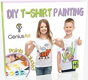 DIY T-shirt Painting - Kids Arts and Crafts