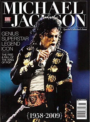 - XXL Michael Jackson Magazine Genius Superstar Legend Icon the Rise and Fall of the King of Pop
