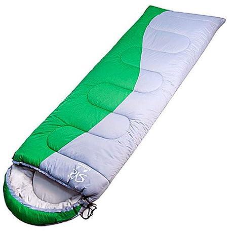 Outdoor Supplies Saco de Dormir de Camping, Saco de Dormir con Sobre de algodón Hueco