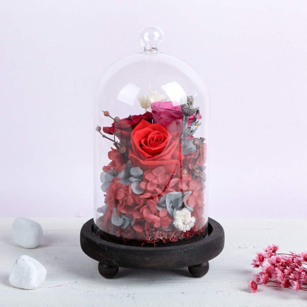 F  Yyzhx Fleur éternelle Thanksgiving Cadeau d'œillet Fleurs Immortel l