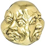 Buddha Head Four Faces Brass Statue