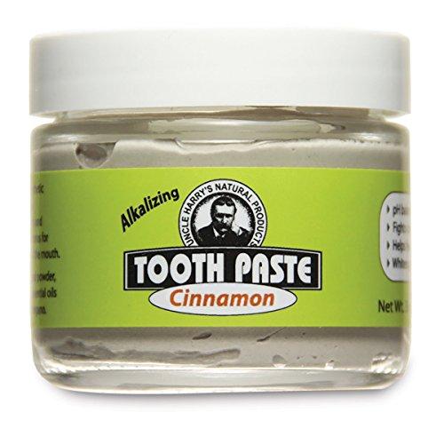 Uncle Harry's Fluoride Free Toothpaste – Cinnamon (3 oz glass jar)