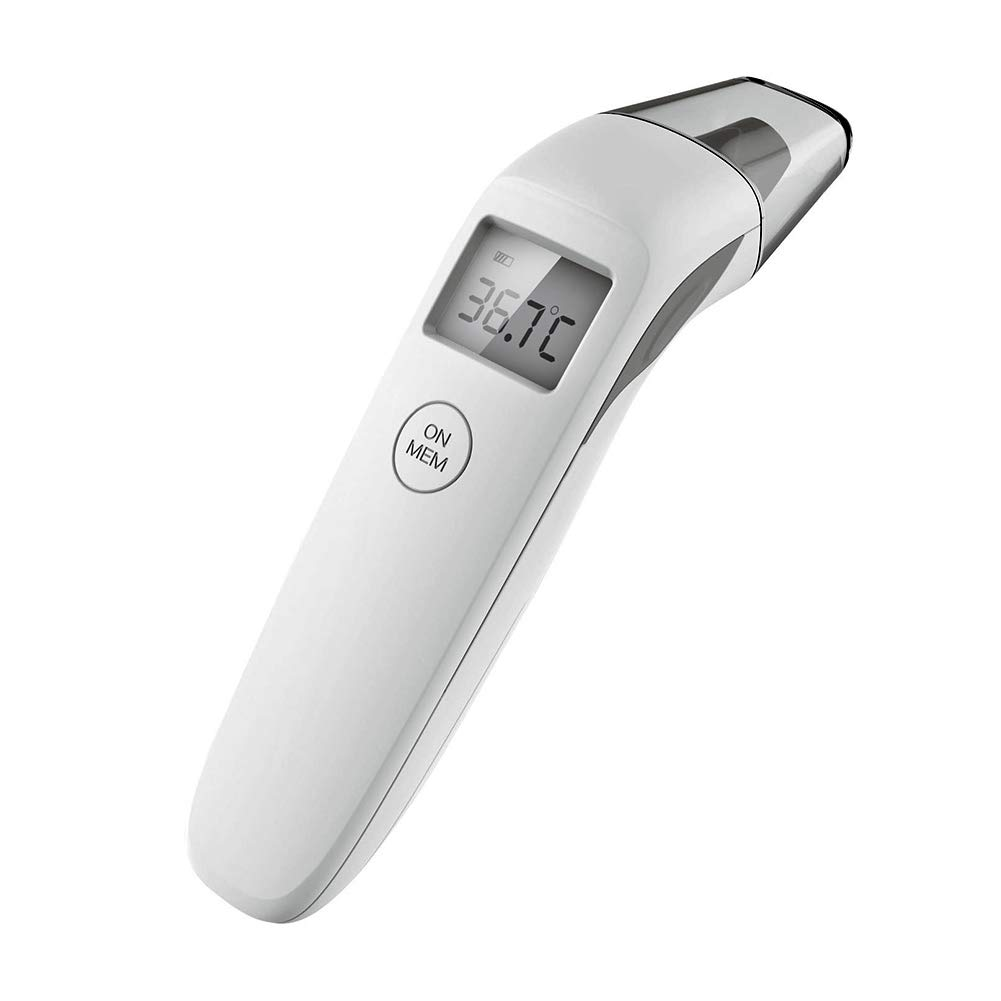 Forehead Thermometer Non-Contact Infrared Digital Thermometer for Fever Instant Accurate Reading for Baby Kids and Adults
