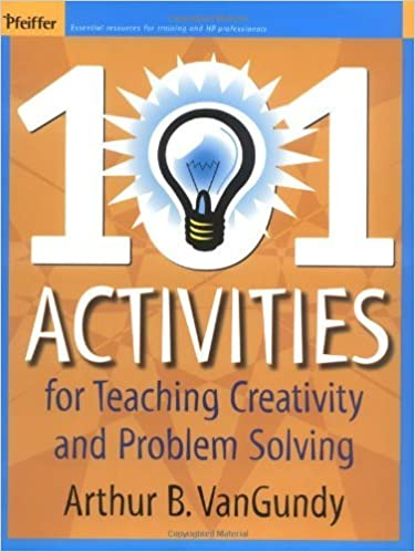 Amazon 101 activities for teaching creativity and problem amazon 101 activities for teaching creativity and problem solving ebook arthur b vangundy kindle store fandeluxe Gallery