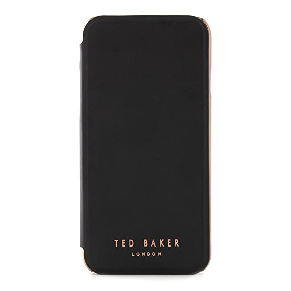 3dc5ef5d9 Image Unavailable. Image not available for. Color  Ted Baker Fashion Mirror  Folio Case for iPhone ...