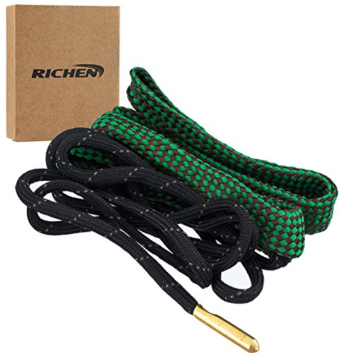 Traditional Barrel Bag (Richen Boresnake Gun Cleaning,GUN Barrel Cleaner,Gun Bore Cleaner for Rifle/Pisto/Shotgun(G02:.22 Cal .223 Cal & 5.56mm))