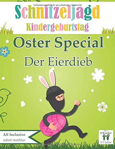 Schatzsuche Kindergeburtstag Ostern