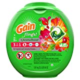 "Gain flings! plus Aroma Boost Laundry Detergent Pacs, Tropical Sunrise, 72 Count ""packaging may vary"""