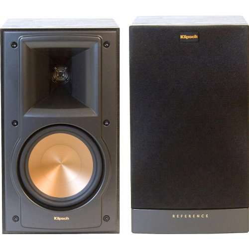 klipsch rb 51 ii black pr 2 way bookshelf speakers import it all. Black Bedroom Furniture Sets. Home Design Ideas