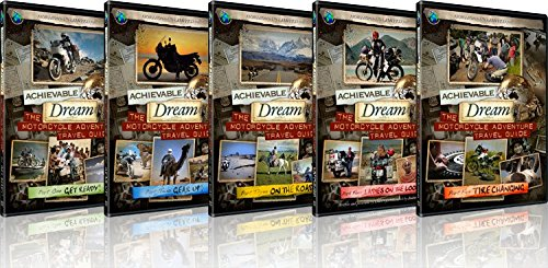 Achievable Dream - Motorcycle Adventure Travel Guide - Collectors Set