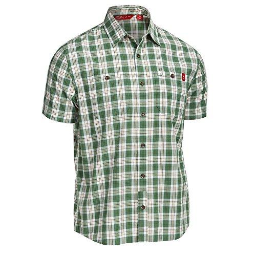 Plaid Fairway (EMS Men's Ranger Plaid Short-Sleeve Fairway Green L)