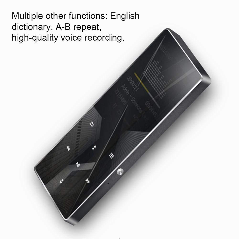 HiFi MP3 Player, Portable Mini High Definition MP3 Digital Music Player High Resolution Lossless Sound HD Audio Player with Card Slot Screen Display by Pomya (Image #3)