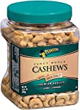 Planters Fancy Whole Cashews with Sea Salt Nuts, 33 Ounces