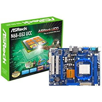 Asrock N68-GS3 UCC NVIDIA All-in-1 Driver for PC