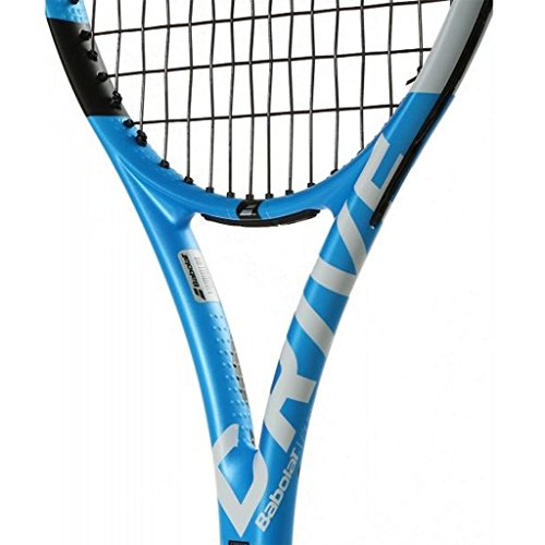 Babolat 2019 Pure Drive 110 Tennis Racquet - Choice of String Color (Blue String, 4-3/8)