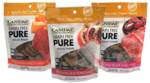 CANIDAE Grain Chewy Treats Variety