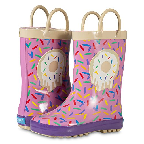 ZOOGS Children's Rubber Rain Boots, Little Kids & Toddler, Boys & Girls Patterns by ZOOGS (Image #5)
