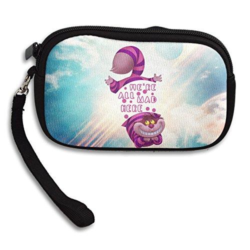 Johnny Depp Edward Scissorhands Costume (LHLKF Alice In Wonderland Cheshire Cat We Cool Purse Credit Card Wallet With Zipper Closure)