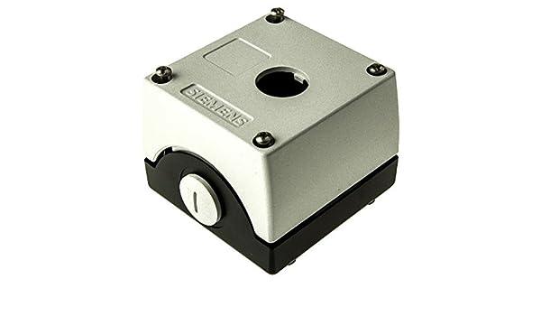 Siemens - Caja metalica vacia 1 punto mando 3sb38-04: Amazon.es: Industria, empresas y ciencia
