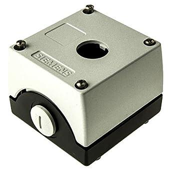 Siemens - Caja metalica vacia 1 punto mando 3sb38-04: Amazon.es ...