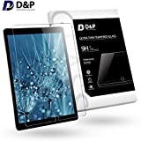 "D&P Screen Protector Glass 9H Compatible with iPad Pro 10.5"", HD Clear Tempered Glass Screen Protector for iPad Pro 10.5"" 2017, Anti Scratch Anti-Fingerprint No Bubble"